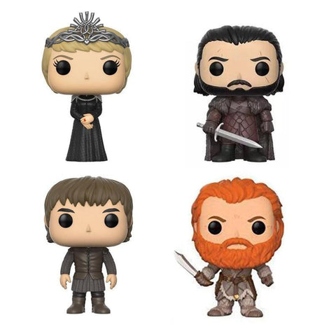 Winter Game of Thrones GOT  Jon Snow Cersei Lannister Bran Stark Tormund 10cm PVC figure Vinyl Doll Toys AT_77_7