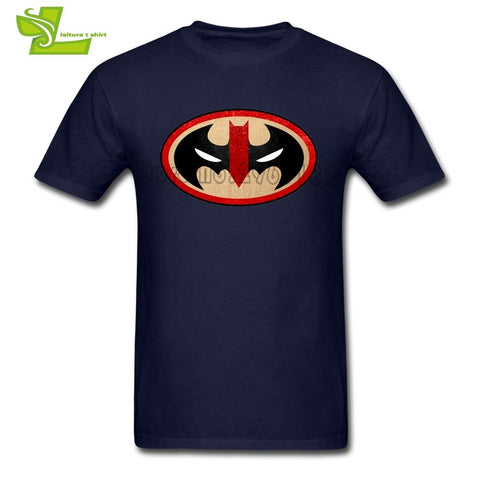 Batman Dark Knight gift Christmas The Merc Knight Batman Deadpool T Shirt Male New Tee Shirts Popular Exercise Loose T-Shirts Men's Short Sleeve Teenboys Top AT_71_6