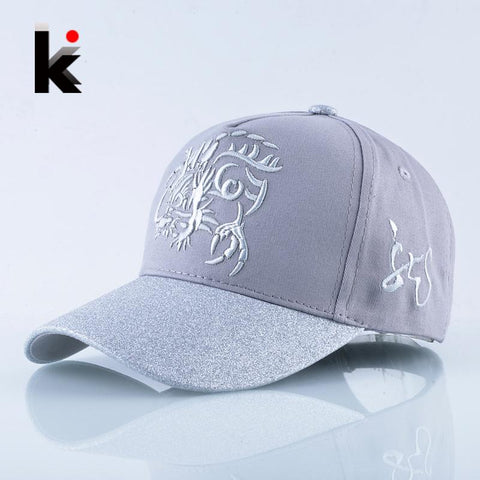 Trendy Winter Jacket Spring Embroidery Baseball Cap Men Snapback Hip Hop Hats For Women Fashion Flashing Visor Kpop Caps Casual Dad Bones Masculino AT_92_12