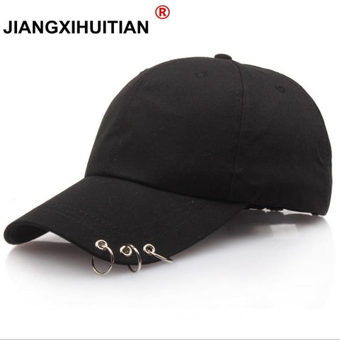 Trendy Winter Jacket 2018 summer New Men's Women's Fashion GD KPOP BTS Live The Wings Tour Hat Bangtan Boys Ring Adjustable Baseball Cap 3 Colors AT_92_12