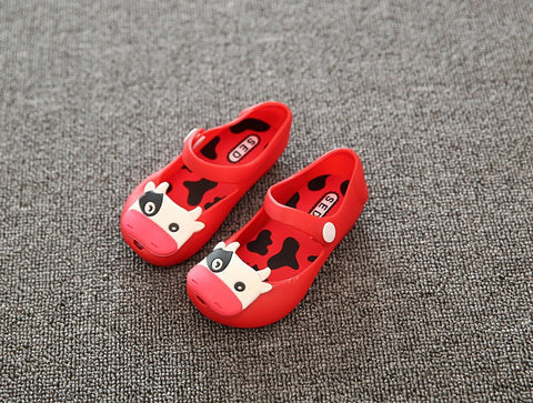 f443b7c729a0 Crocs Style Mini Shoes 2016 Summer girls Sandals Cute Girls shoes Children  minnie Baby Shoes For Girl shoes sandal