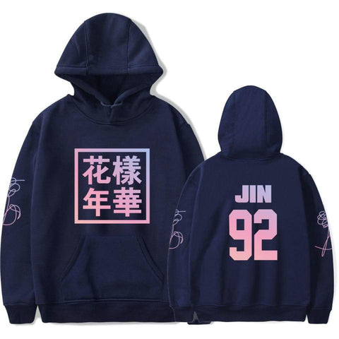 KPOP BTS Bangtan Boys Army  K-pop Love Yourself Hoodies women  Boys Young Forever Hoodies Sweatshirts Women Fans Hip Hop Popular Idol Clothes AT_89_10