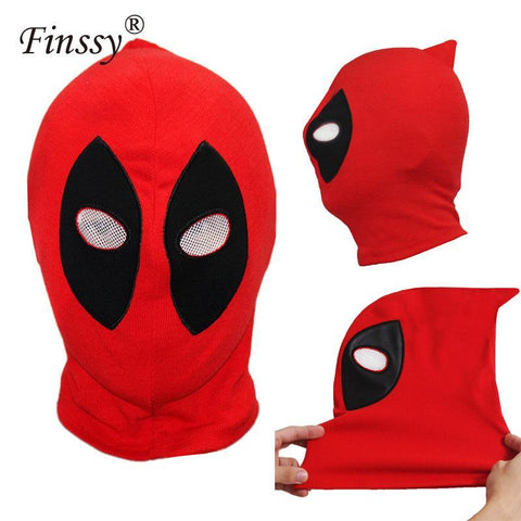 Deadpool Dead pool Taco  Masks Superhero Balaclava Halloween Cosplay Costume X-men Hats Arrow Party Neck Hood Full Face Mask Cotton AT_70_6