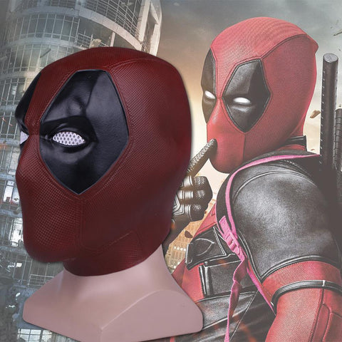 Deadpool Dead pool Taco  2 Marvel  Masks Halloween Cosplay Costume Props Superhero Movie Latex Mask Collectible Toys Full Face Mask AT_70_6