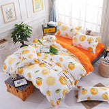Cool BEST.WENSD christmas bedding sets super soft duvet cover with zipper closure +bedsheet+pillowcases  kids full queen king sizeAT_93_12