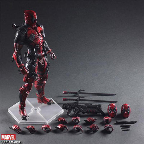"Deadpool Dead pool Taco Play Arts Marvel Super Hero  Action Figure PA Toys 10"" 25cm AT_70_6"