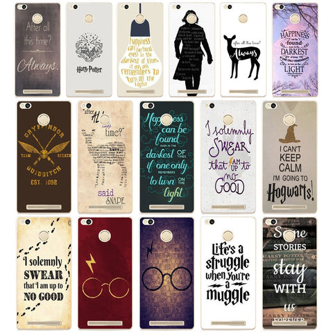 04DF After All This Time Harry Potter  Transparent  Cover Case for Xiaomi Redmi 3S 3Pro 4a 5 plus Note 4 4x 5a 4pro Mi5 mi a1