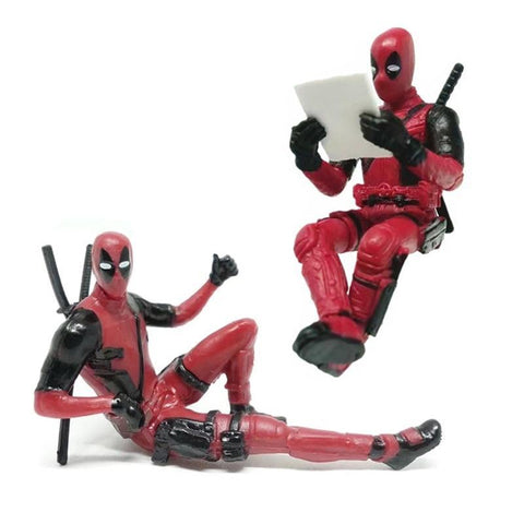 Deadpool Dead pool Taco New! 1pcs 7cm Marvel X-man figure toys   model figure PVC action toys for boys AT_70_6