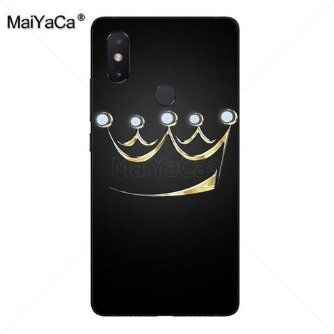 Cool MaiYaCa King Queen Couple Cute Phone Accessories Case for xiaomi mi 8se 6 note2 note3  redmi 5 plus note 4 5 coverAT_93_12