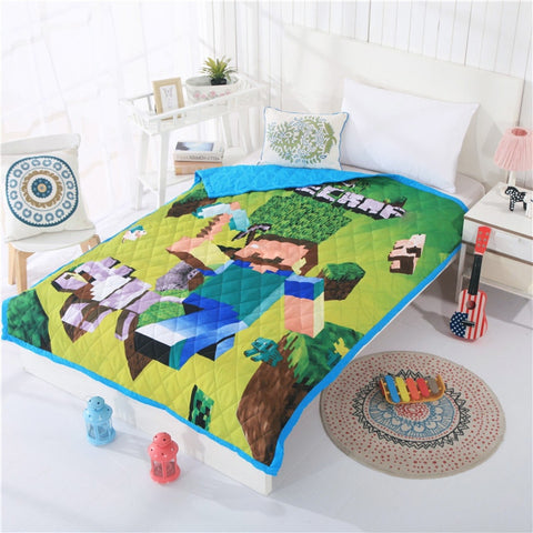 Smart Electronics Disney Hero Bedlinens Twin Size Throw Blanket 100% Cotton Kid Beddings For Boy 3d Captain America Bed Spreads Queen Summer Quilt To Rank First Among Similar Products