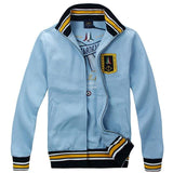 Trendy 2018 New Mens air force Pilot Jackets Aeronautica Militare High quality embroidery Men's Spring and Autumn Casual Jacket AT_94_13