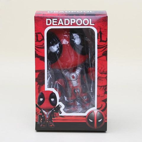 Deadpool Dead pool Taco anime  Figure Toys Wacky Wobbler Bobble Head Action Figures Doll 13.5cm With Base model doll AT_70_6