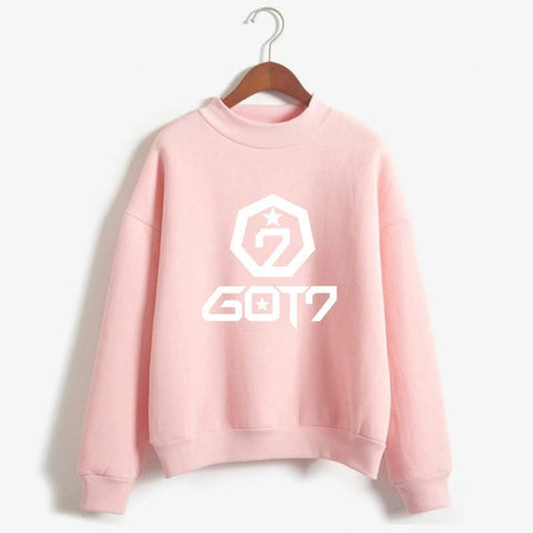 KPOP BTS Bangtan Boys Army Got 7 Monsta X Fans  Hoodie For Women Wanna One  Twice Blackpink Exo Album Pringting Sweatshirt Female Fan Winter Hoodies AT_89_10