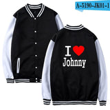 Trendy 2017 Johnny Hallyday Baseball Jackets Women Winter Fashion Sweatshirts Warm Casual College Student Women Jacket AT_94_13