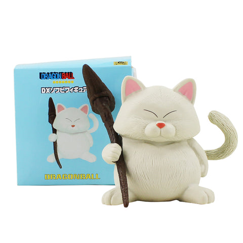 14cm Dragon Ball Z White Cat Hermit Master Figure Toy Korin Karin Cat Neko Sennin Animal Dragonball PVC Model Toy Doll