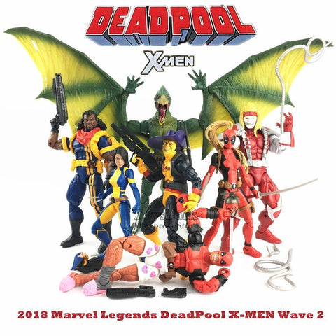 "Deadpool Dead pool Taco 2018 Marvel Legends 6""  Shorts X Men Shirt X 23 Wolverine Lady Bishop Omega Red Action Figure Dr Karl Lykos Sauron BAF W AT_70_6"
