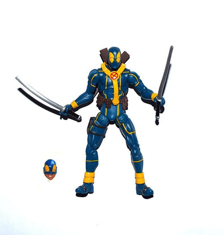 "Deadpool Dead pool Taco Marvel Universe 3.75""  Blue Suit Loose Action Figure   XMAS GIFT AT_70_6"