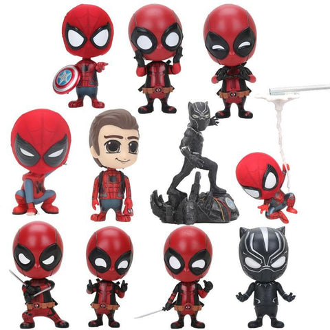 Deadpool Dead pool Taco  Cosbaby Action Figure PVC 10CM Collection Model Toys Dolls Kids Toys AT_70_6