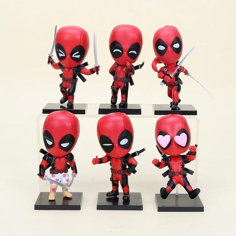 Deadpool Dead pool Taco Anime figurals Huong action Figure  bobblehead  COSBABY PVC Action Figures Collectibles  Model Toy AT_70_6