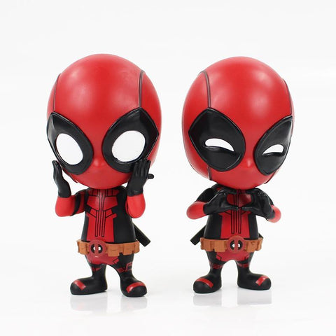 Deadpool Dead pool Taco 9cm  2styles action figure model toy cute lovely  figure collection for friends gifts AT_70_6