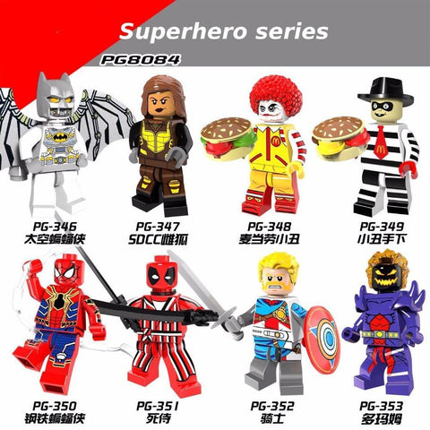 Deadpool Dead pool Taco Hote Sale Super Heroes Batman  Dormammu Building Blocks Toys Figures PG8084 AT_70_6