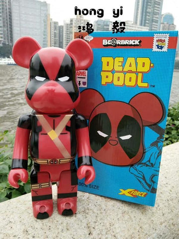 Deadpool Dead pool Taco 400%bearbrick Avengers  Dolls Handle Models 28cm AG505 AT_70_6