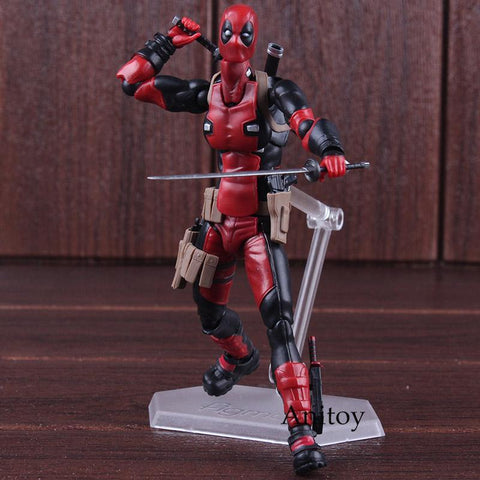 Deadpool Dead pool Taco Good Smile Max Factory Figma 353 Hot Toys  PVC Action Figure Collectible Figurines Model Toy 15cm AT_70_6