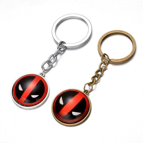 Deadpool Dead pool Taco 2017 New 8cm Anime Catoon X-men figure gemstone pendant  top keychain toys AT_70_6