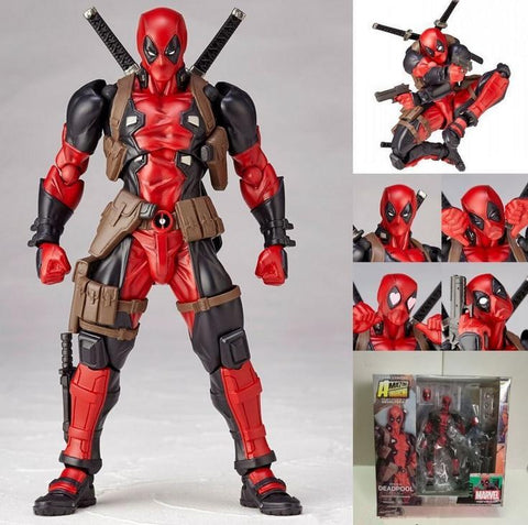 Deadpool Dead pool Taco 1pcs 16cm PVC High Quality Classics Super Hero  Variant Movable Action Figure Toy Gift 156 AT_70_6