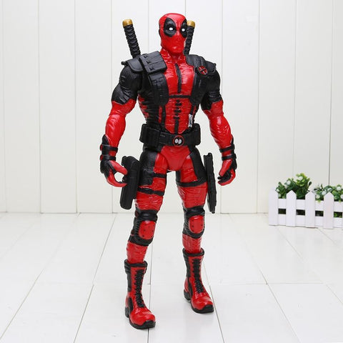 Deadpool Dead pool Taco 33cm  Red Ver. Action Figure 1/7 scale painted figure  Wade Wilson Doll PVC ACGN figure toy AT_70_6