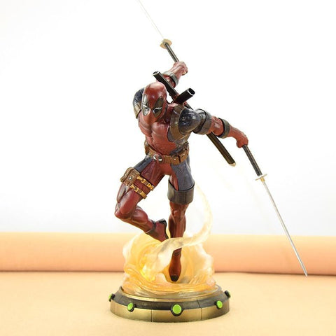 Deadpool Dead pool Taco WVW 27CM Hot Sale Comic Hero  Wolverine X-MEN Play Arts Model PVC Toy Action Figure Decoration For Collection Gift AT_70_6