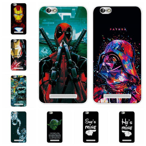 Deadpool Dead pool Taco Charming  Cases Coque For Lenovo A2020 A2020a40 DS A 2020 iron Man Phone Case For Lenovo Vibe C A2020 a2020 Cover Capa AT_70_6