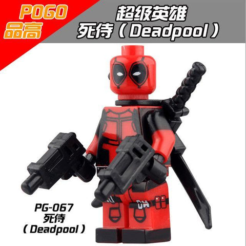 Model Building Symbol Of The Brand 1pcs Star Wars Superhero Marvel Avengers Deadpool Building Blocks Action Sets Model Bricks Toys For Children