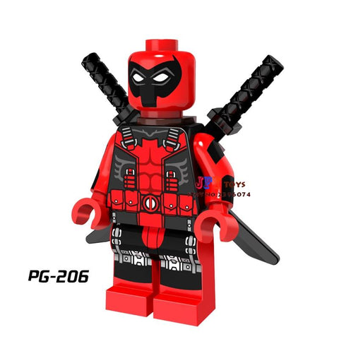 Star Wars Force Episode 1 2 3 4 5 50pcs  super heroes model Marvel Spider-Man Deadpool building block for hobby children toys brinquedos menina AT_72_6