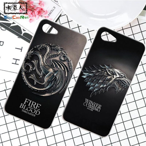 Winter Game of Thrones GOT ShuiCaoRen Silicone Case For Lenovo ZUK Z2 Pro Retra  Cover Phone Coque Ice and Fire Fundas For ZUK Z2 AT_77_7