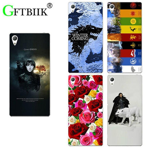 "Winter Game of Thrones GOT For  7 Case For Asus Zenfone 3 GO ZB501K 5.0"" Asus Zenfone Live ZB501KL Cover Hard Plastic Phone Back Shell AT_77_7"