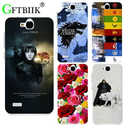 Winter Game of Thrones GOT For  7 Case For Huawei Honor 3C Lite Play Honor Holly Cover Hard Plastic Printed Phone Back Shell Football Case AT_77_7