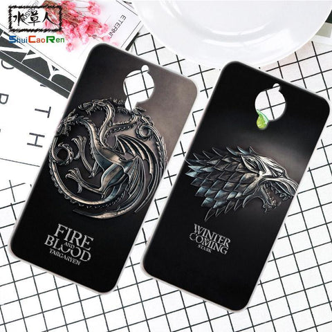 Winter Game of Thrones GOT Silicone Case For Gionee elife E7 E 7 Retra  Cover Phone Coque Ice and Fire Fundas For Gionee Elife E8 GN9008 AT_77_7