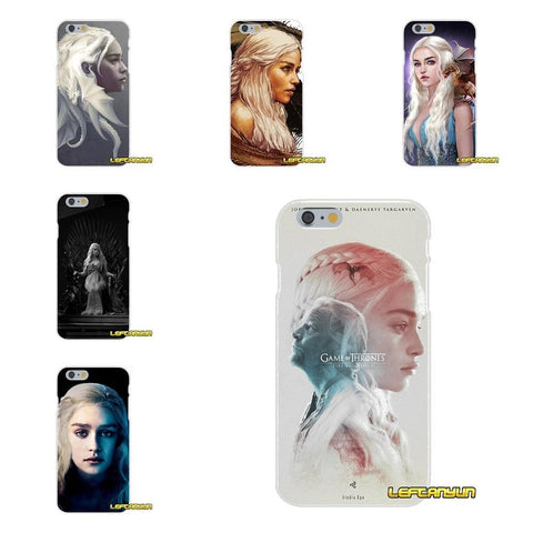 Winter Game of Thrones GOT For Samsung Galaxy S3 S4 S5 MINI S6 S7 edge S8 S9 Plus Note 2 3 4 5 8 Daenerys    Silicone St Phone Case AT_77_7