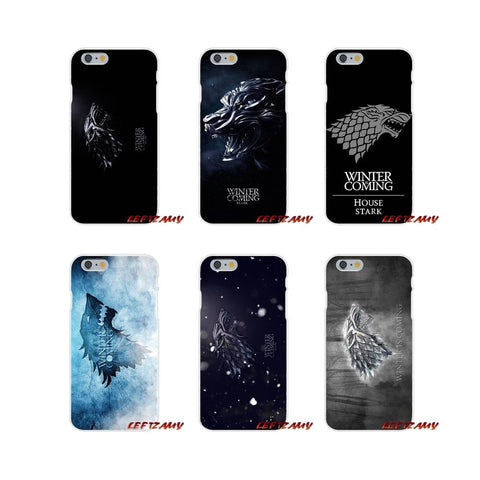 Winter Game of Thrones GOT For Huawei P8 P9 P10 Lite 2017 Honor 4C 5X 5C 6X Mate 7 8 9 10 Pro    Winter Is Coming Printing Silicone Case Covers AT_77_7