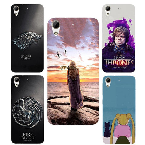 Winter Game of Thrones GOT For HTC 650 case  Daenerys silicone Phone cover Fundas Case For HTC Desire 650 / HTC Desire 650 Dual Sim AT_77_7