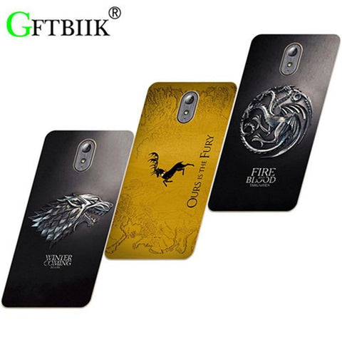 Winter Game of Thrones GOT Cute Cartoon Case For Lenovo Vibe P1M P1MA40 Hard Plastic Case Fashion Printed Cover  7 AT_77_7