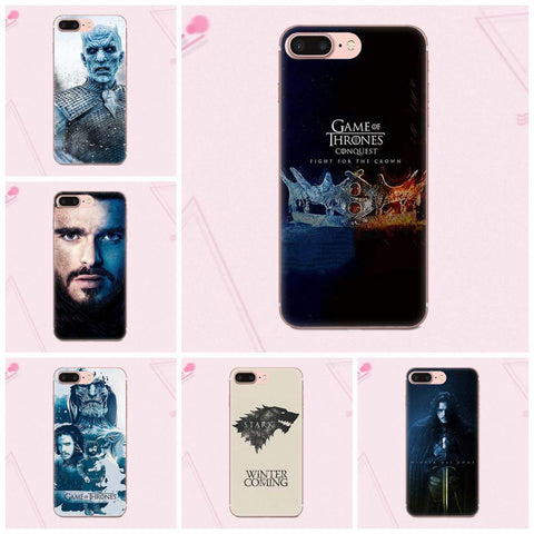 Winter Game of Thrones GOT Suef    Poster For Apple iPhone 4 4S 5 5C 5S SE 6 6S 7 8 Plus X High Quality St Back AT_77_7