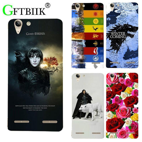 Winter Game of Thrones GOT For  7 Case For Lenovo Vibe K5 Lenovo K5 Plus A6020 A6020a40 A6020a46 Cover Hard Plastic Printed Case Housing AT_77_7