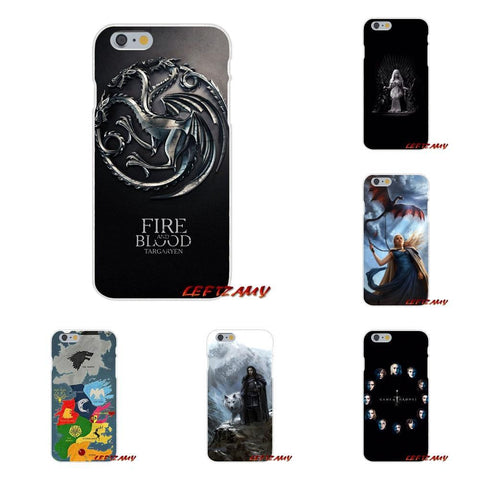 Winter Game of Thrones GOT For Xiaomi Mi6 Mi 6 A1 Max Mix 2 5X 6X Redmi Note 5 5A 4X 4A A4 4 3 Plus Pro Hot Jon Snow  Mobile Phone Cover Bag AT_77_7