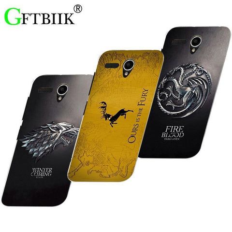 Winter Game of Thrones GOT Cute Cartoon Case For Lenovo A606 A 606 Hard Plastic Pattern Shell Bag Fashion Printed Cover  7 AT_77_7