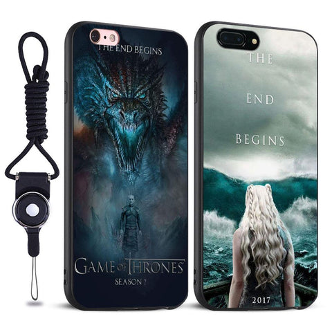 Winter Game of Thrones GOT  House Stark Targaryen St Silicone Tpu Phone Case For Apple iPhone 5 5s Se 6 6s 7 8 Plus X XR XS MAX AT_77_7