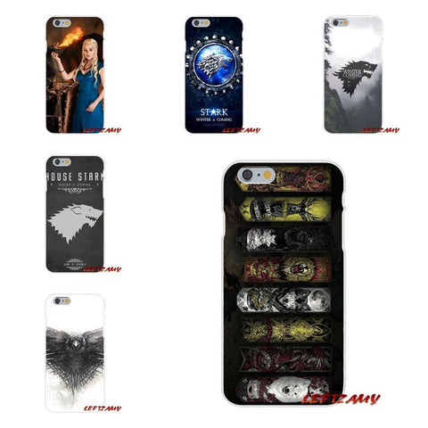 Winter Game of Thrones GOT For Xiaomi Mi6 Mi 6 A1 Max Mix 2 5X 6X Redmi Note 5 5A 4X 4A A4 4 3 Plus Pro Jon Snow  TPU Transparent Shell Case AT_77_7