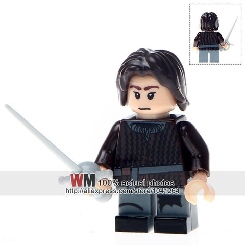 Winter Game of Thrones GOT Building Blocks Single Sale PG1052 Arya Stark Caitlin Alicia Stark  Ice and Fire Kids Gift Toys PG8072 AT_77_7
