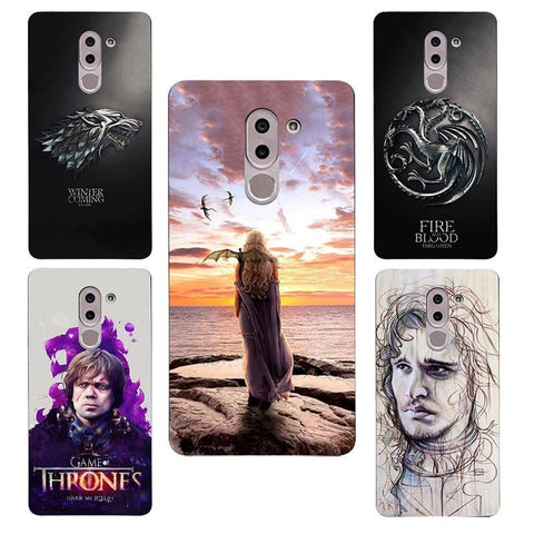 Winter Game of Thrones GOT GOT    House Stark St silicone Painting Case for Huawei Honor 6X/Mate 9 Lite /GR5 2017 Printed Case AT_77_7